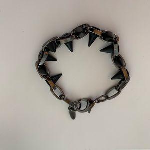 Joomi Lim Double Row Spike Bracelet